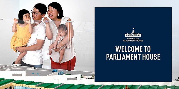Tour: Welcome to Parliament House  - November 2019 - Five free tours daily Event Banner