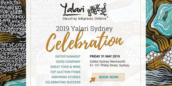 The Yalari Dinner   Sydney 2019 Event Banner