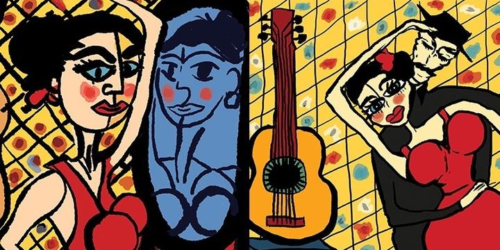 ESPAÑA- EL VITO - The Spirit of Spain & Tango - Singleton Event Banner