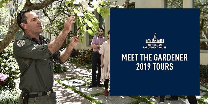 Tour: Meet the Gardener Event Banner