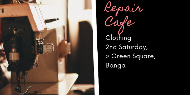 Zetland Repair Cafe - Clothing Event Banner