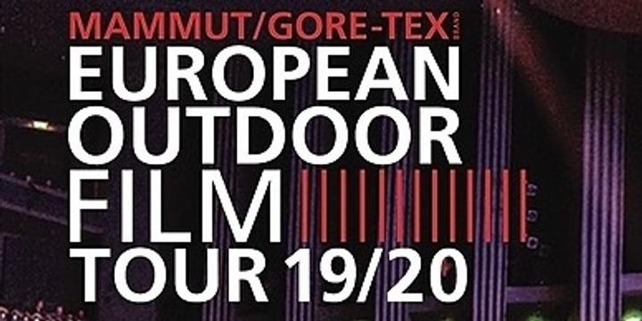 European Outdoor Film Tour Australia Event Banner