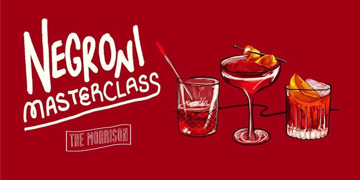 Negroni Masterclass at The Morrison in Sydney CBD Event Banner