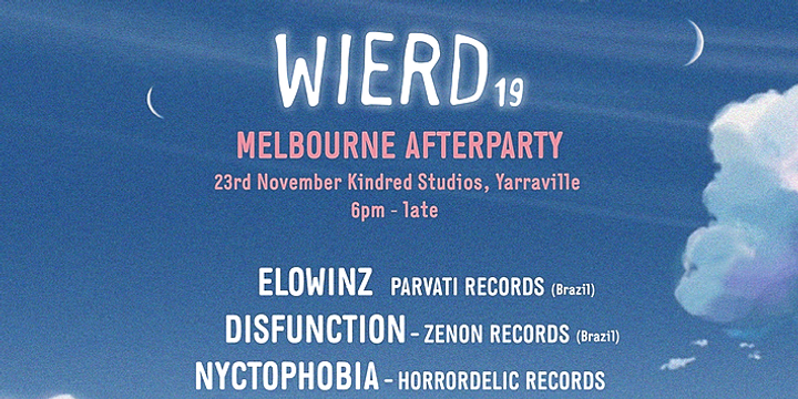 Wierd19 Afterparty Melbourne Event Banner