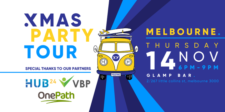 XMAS PARTY Tour Melbourne - 14th November Event Banner