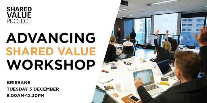 Advancing shared value workshop Event Banner