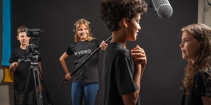 MOVIE-MAKING WORKSHOP for kids   M-CREATIV'Kids Event Banner