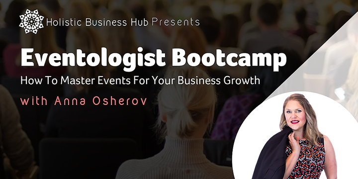 #Eventologist Bootcamp Event Banner