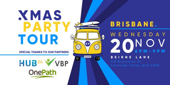 XMAS PARTY Tour Brisbane - 20th November Event Banner
