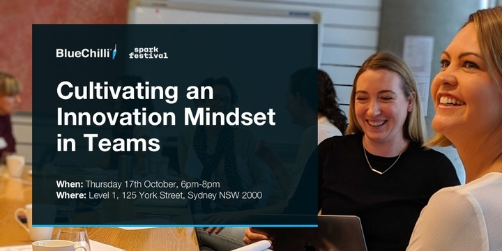 Cultivating an Innovation Mindset in Teams Event Banner