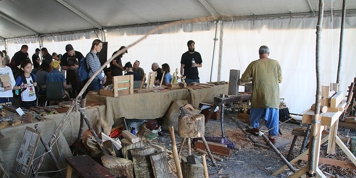 LEARN the Art of POLE LATHE TURNING with the Leura Bodger @ Illawarra Festival of Wood 2019 Event Banner