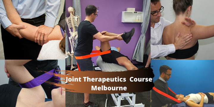 Joint Therapeutics Course (Melbourne Vic) Event Banner