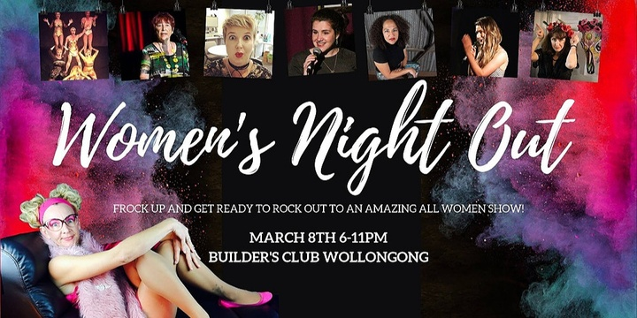 Woman's Night Out Event Banner