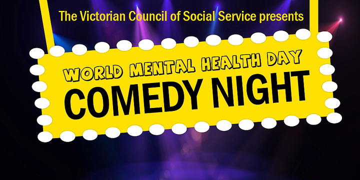 VCOSS Comedy Night Event Banner