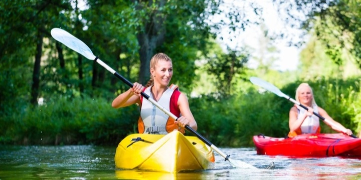 Yoga, Lunch and Canoe at the Anglesea River Event Banner