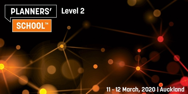 Planners' School Level 2 - Auckland - 11-12 March 2020 Event Banner