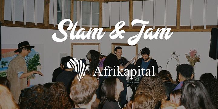 Afrikapital Presents: Freedom Time Slam & Jam Event Banner