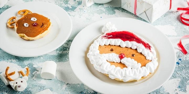 Santa's Breakfast Event Banner
