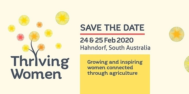 Thriving Women 2020 Event Banner