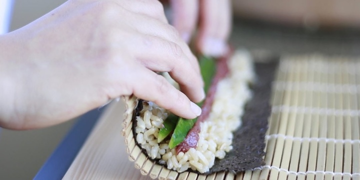Superfood Sushi Cooking Class Event Banner