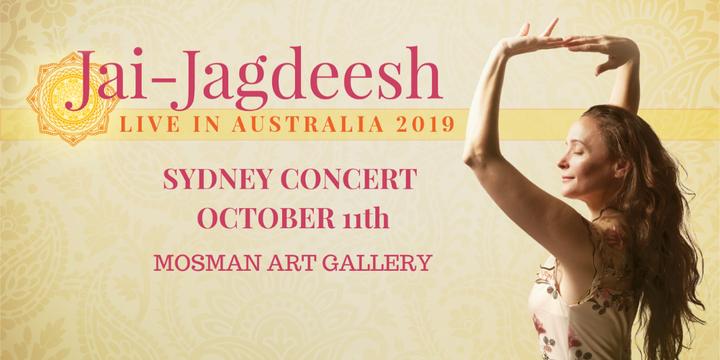 JAI-JAGDEESH - SYDNEY CONCERT Event Banner