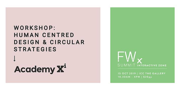 12.05pm - Human-Centred Design, Academy Xi | Future Work Summit , Sydney 15 Oct 2019 Event Banner