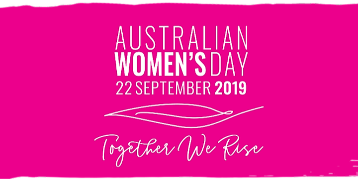 Australian Women's Day - South Coast NSW Event Event Banner