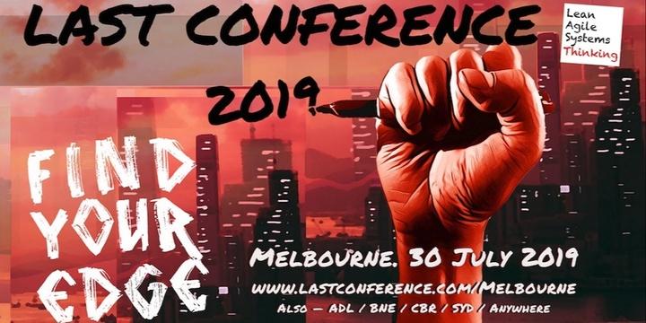 LAST Conference Melbourne 2019 Event Banner