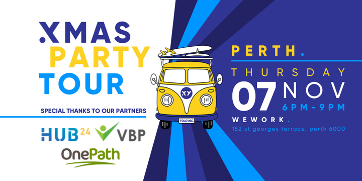 XMAS PARTY Tour Perth - 7th November Event Banner