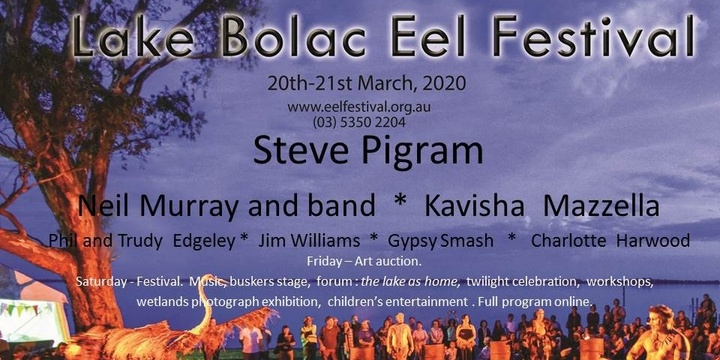 Lake Bolac Eel Festival - 2020 Event Banner