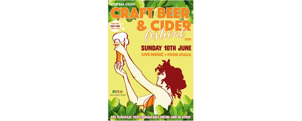Central Coast Craft Beer & Cider Festival #ccbeerfest18 Event Banner