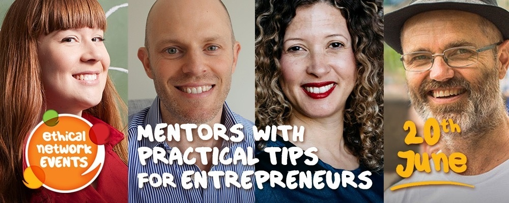 Mentors with practical tips for entrepreneurs Event Banner