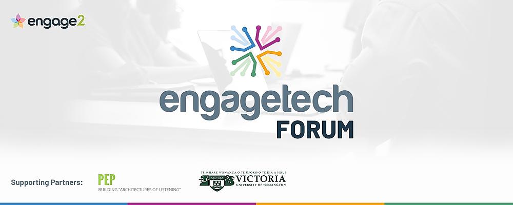 EngageTech Forum - New Zealand Event Banner