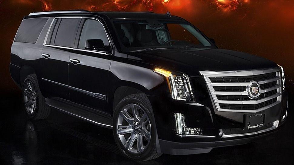 Black Cadillac Escalade Suv