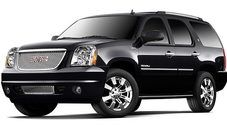 Black Gmc Denali Luxury Suv