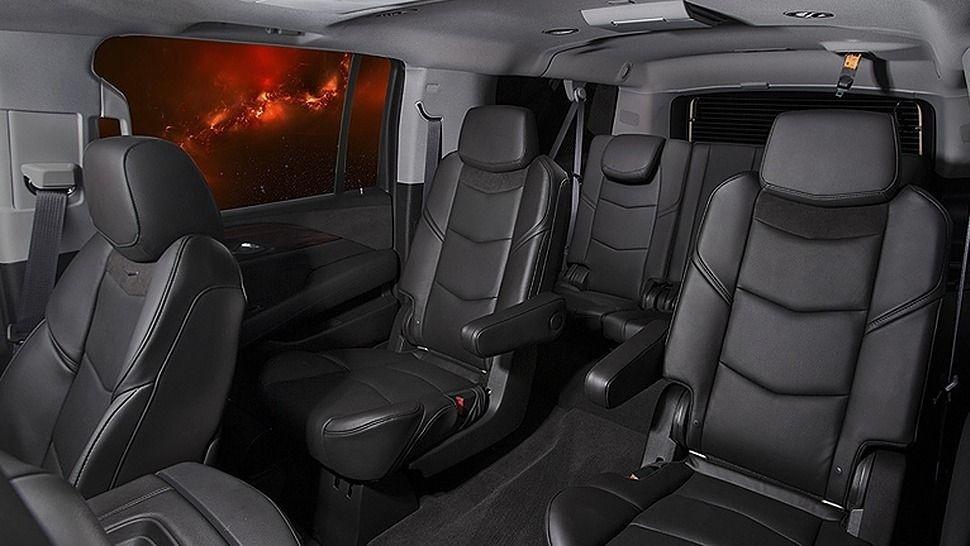 Chevy Suburban Seating >> Joyrides Black Chevy Suburban Suv