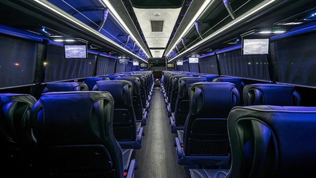 56 Passenger Deluxe Coach