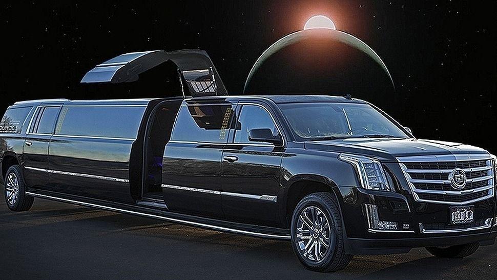 Black Cadillac Escalade Suv Limo