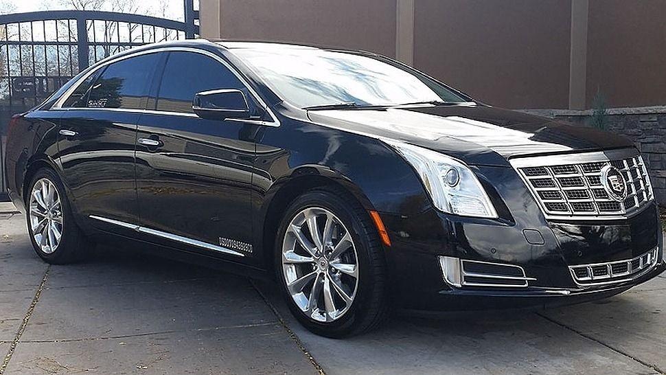 Black Cadillac Town Car