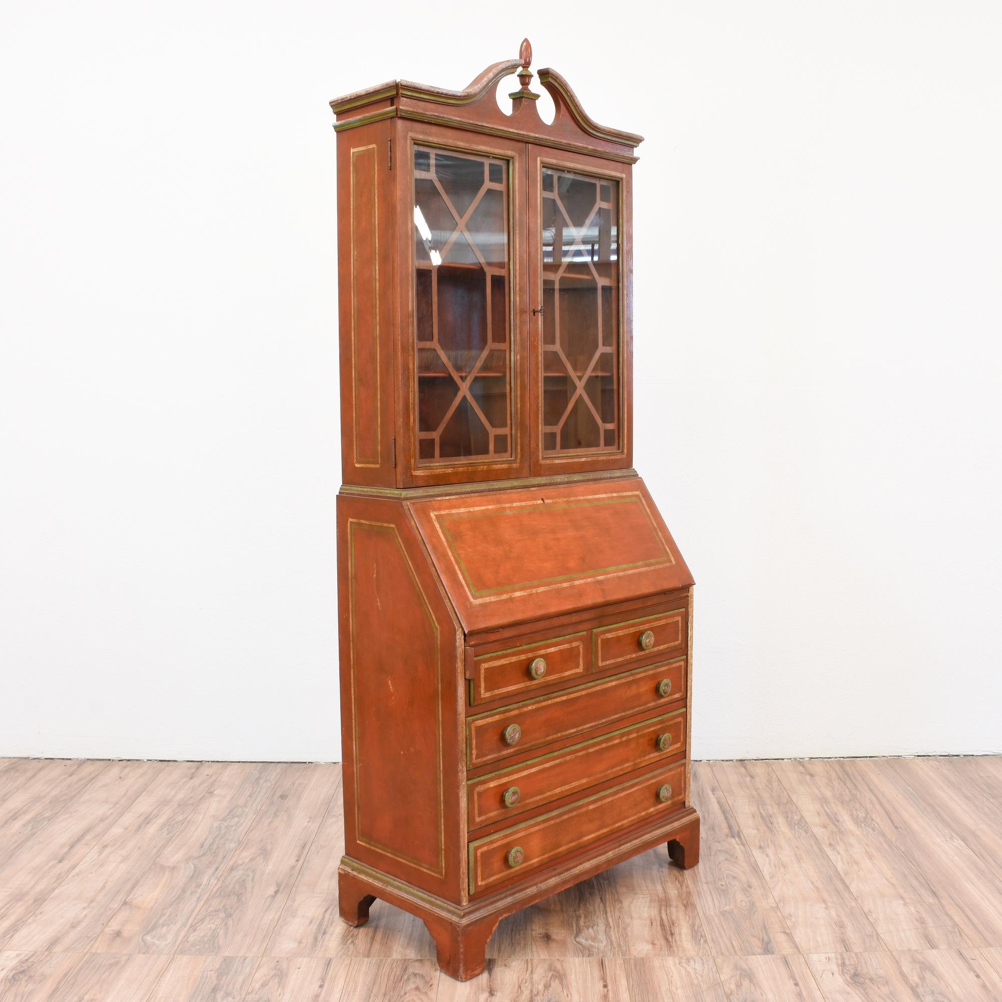 most recent furniture secretary hutch