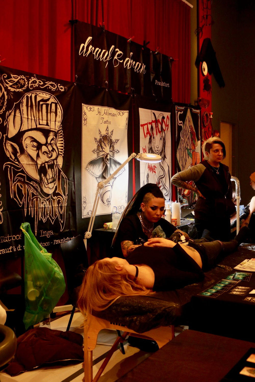 Sisters Tattoo & Art Expo återkommer till Kulturen i Lund i februari 2020. Bilderna är från mässan i februari 2019. Foto: Fiona Coogan.