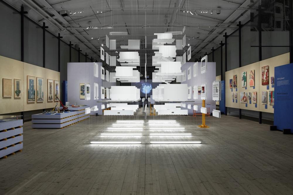 Exhibition photo. Photo: Kristofer Johnsson.