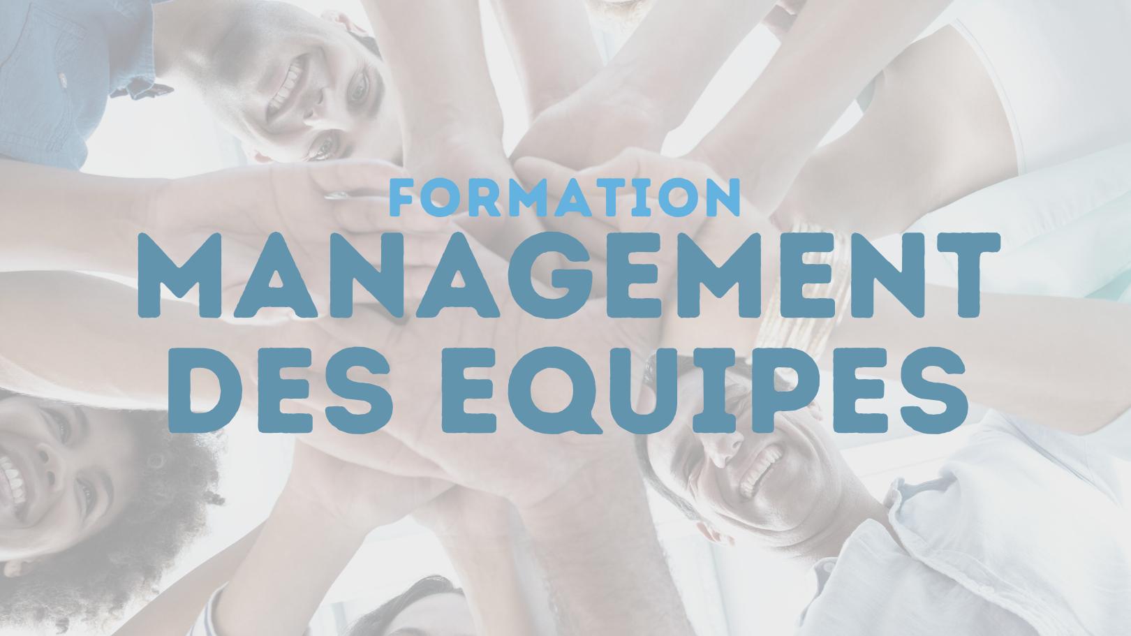 Représentation de la formation : MANAGEMENT DES EQUIPES