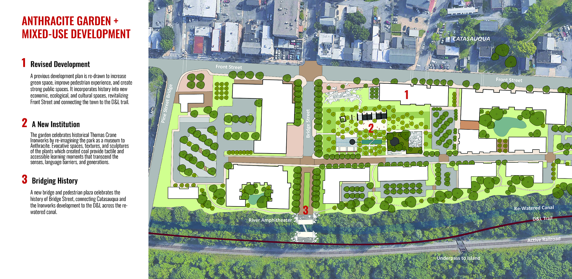 Anthracite Garden + Mixed Use Development: Plan