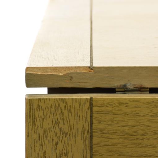 mid century modern green drop leaf dining table loveseat vintage furniture san diego los angeles. Black Bedroom Furniture Sets. Home Design Ideas