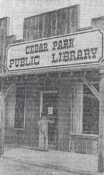 Cedar Park Public Library 1981jpg
