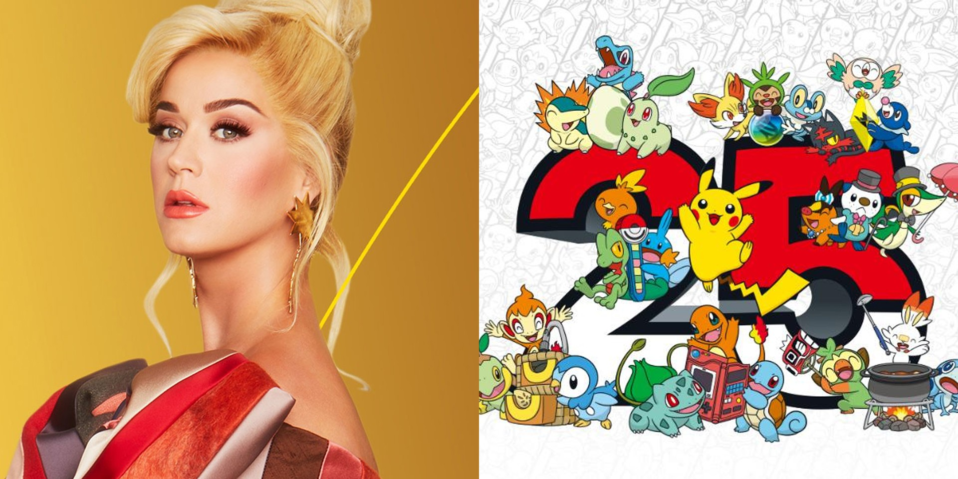 Pokémon to celebrate its 25th anniversary with global music event P25 Music featuring Katy Perry, new games, exclusive merch, and more