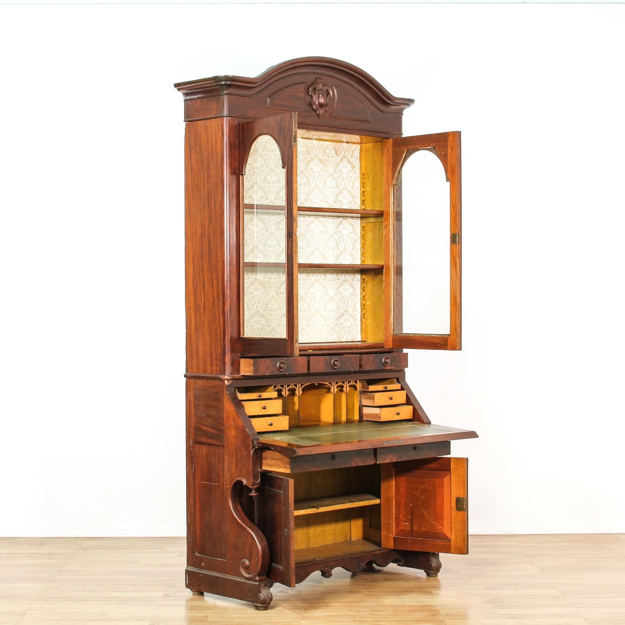 American Furniture Warehouse Desks ... Bureau Bookcase | Loveseat Vintage Furniture San Diego & Los Angeles