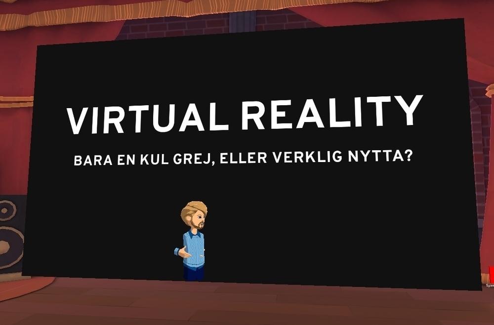 Fredrik Löfgren från Dyno Robotics - och frågan som vi försökt besvara under Kvadratdagen VR.