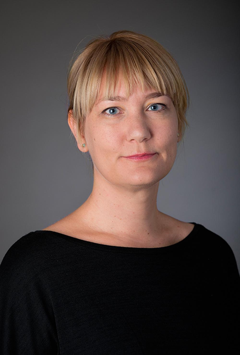 Sofia Gydemo, bibliotekarie, Sbi. Foto: Eva Dalin
